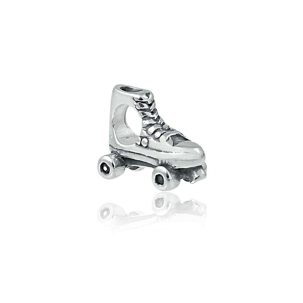 Beautiful Sterling silver 925 sterling Sterling Silver Roller Skates Charm